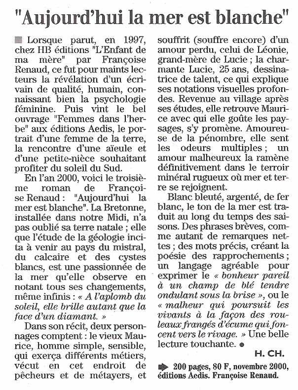 Midi Libre, déc 2000