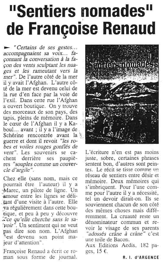 La Provence, nov 2003