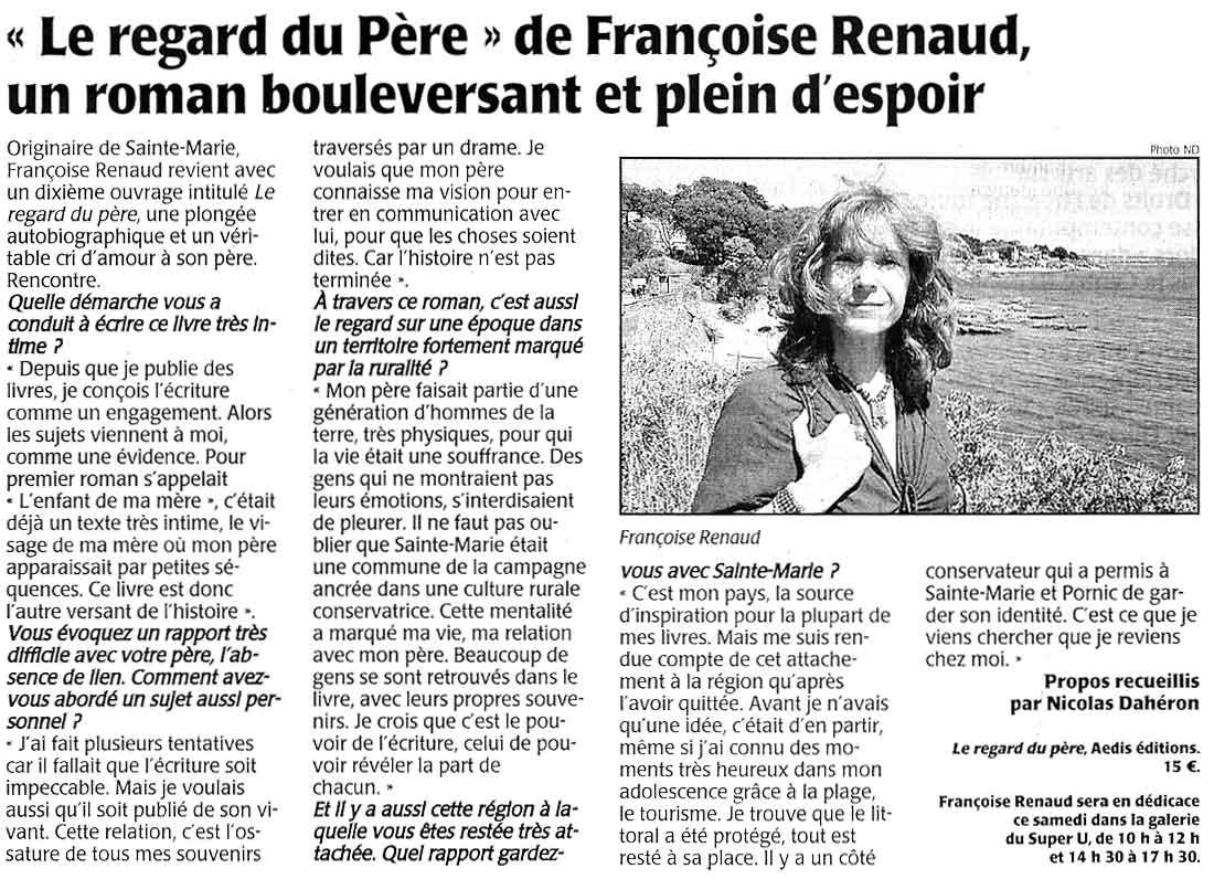 Presse Océan, juin 2006
