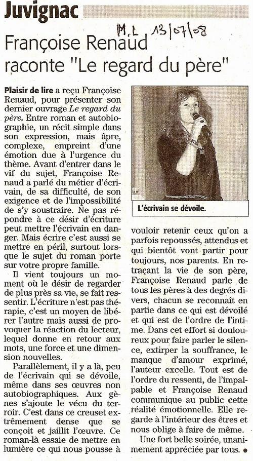Midi Libre, juillet 2008