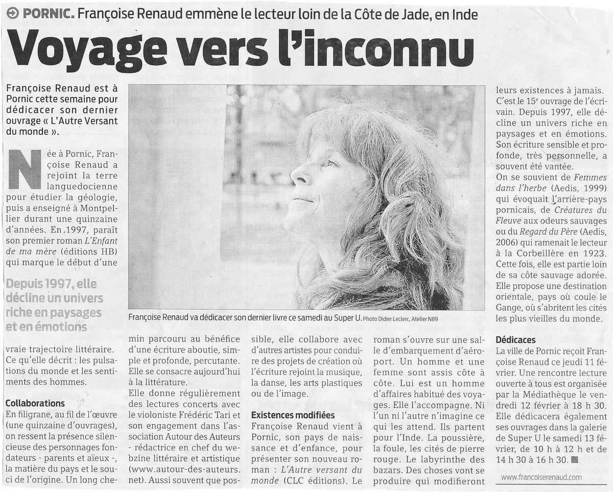 Presse Océan, février 2010