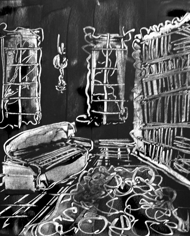 La bibliothèque, Denis Caporossi