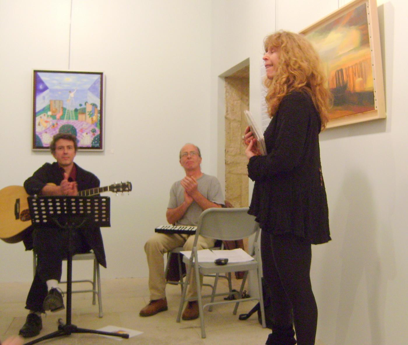lecture-concert, Nuit des Musées, 18 mai 2013