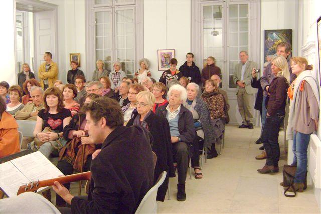 Nuit des musées, 18 mai 2013, musée Hofer Bury, Lavérune