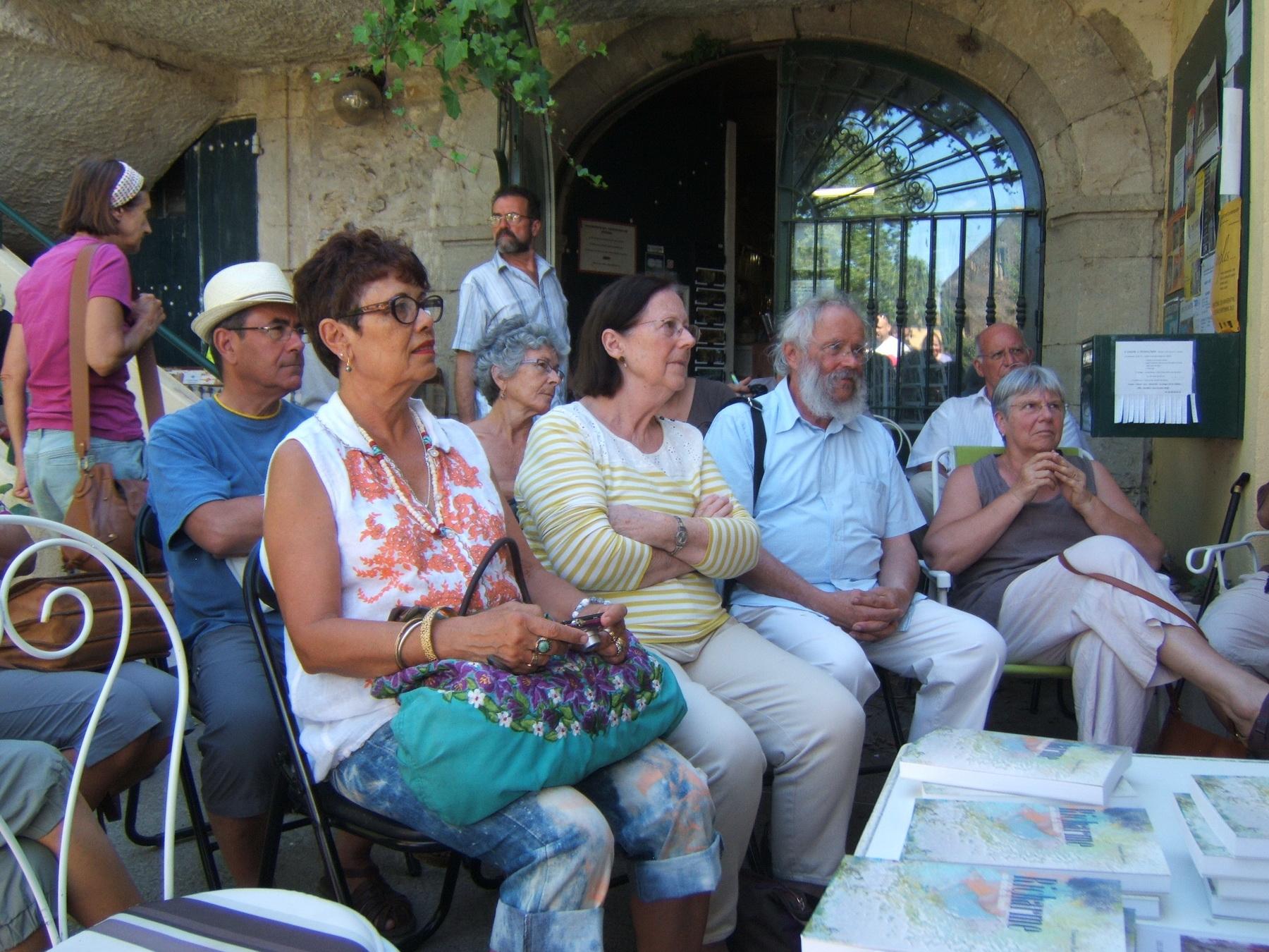 Parcours d'aquarelles dans l'Aude, juillet à septembre 2013