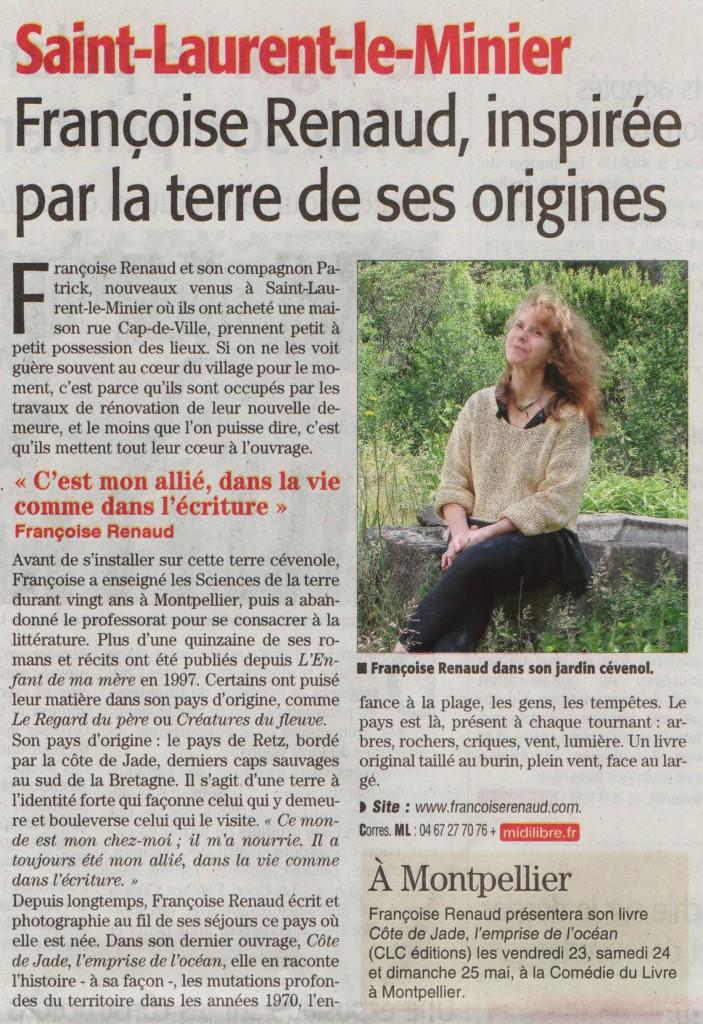 Midi Libre Gard, 15 mai 2014