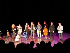 spectacle solidaire, 13 mars 2015, théâtre Albarède, Ganges