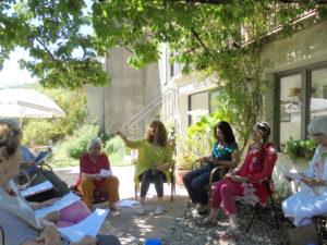 Écrire lire partager, deux journées particulières à Saint Laurent le Minier, juin 2019