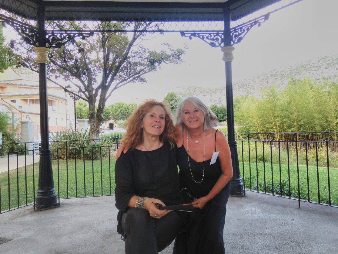 1er salon du livre à Anduze, 18 août 2019