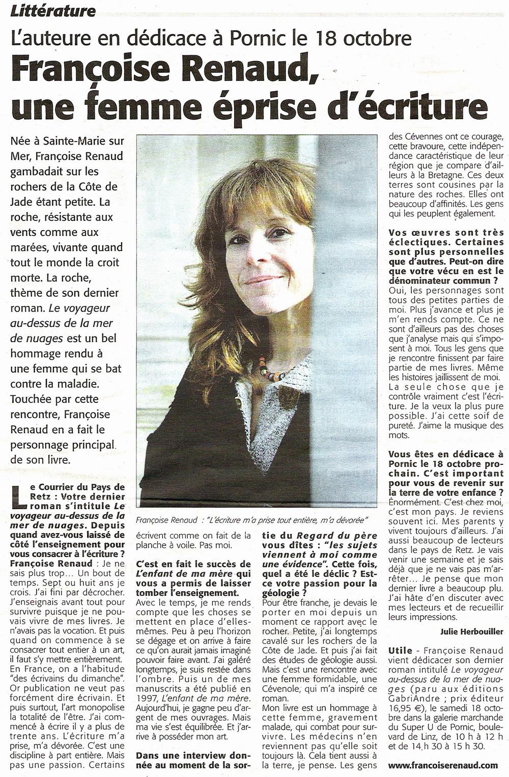Le Courrier du Pays de Retz, 2008