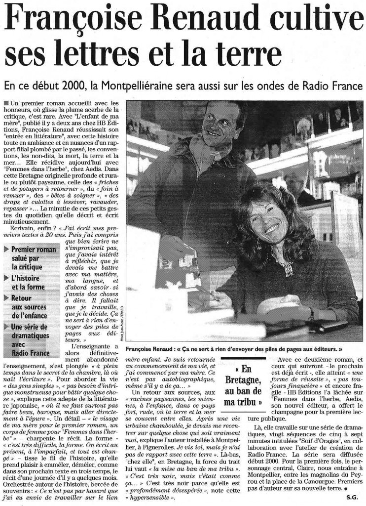 Midi Libre, 7 janv 2000