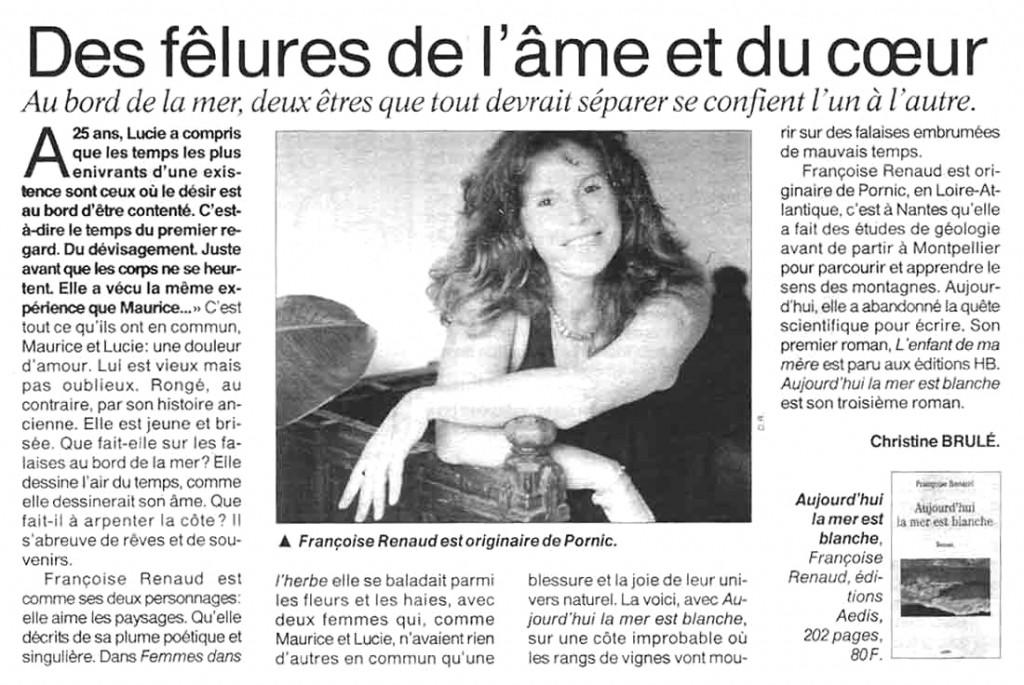 Ouest France, fev 2001