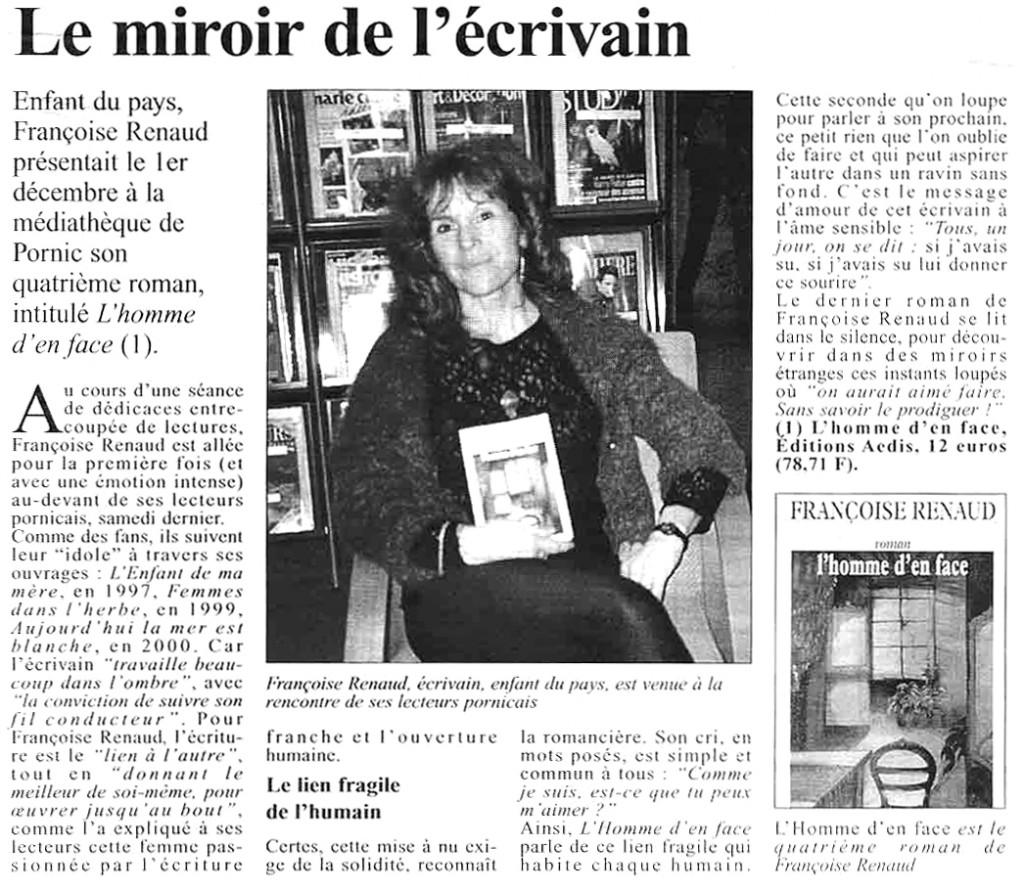 Le Courrier du Pays de retz, dec 2001