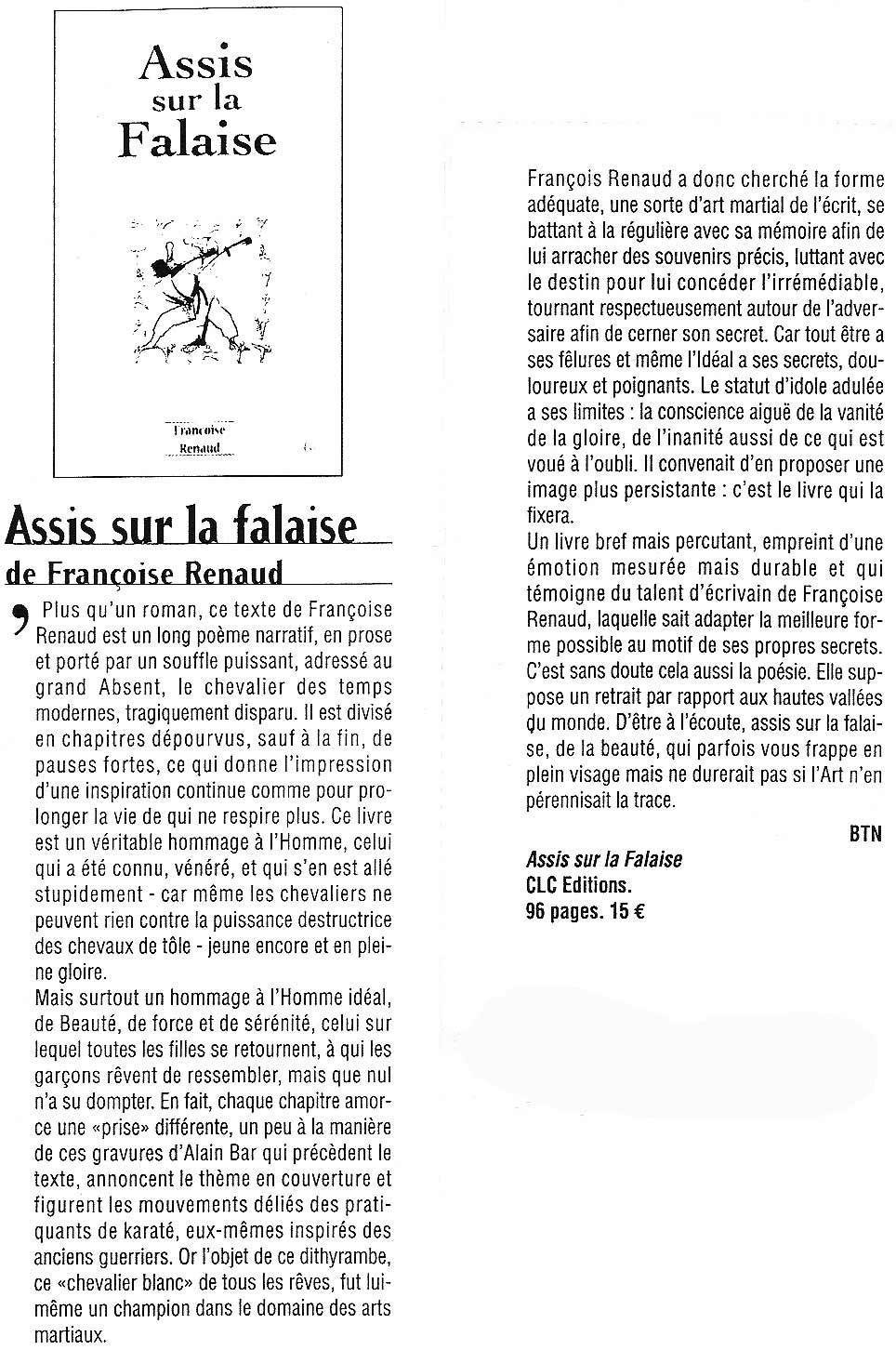 l'Art Vues, nov 2003