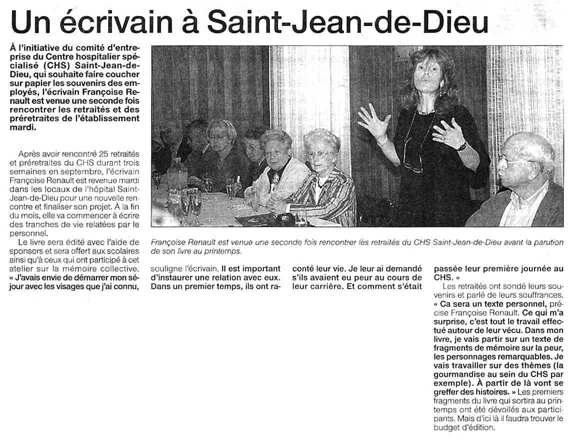 Ouest-France, nov 2002