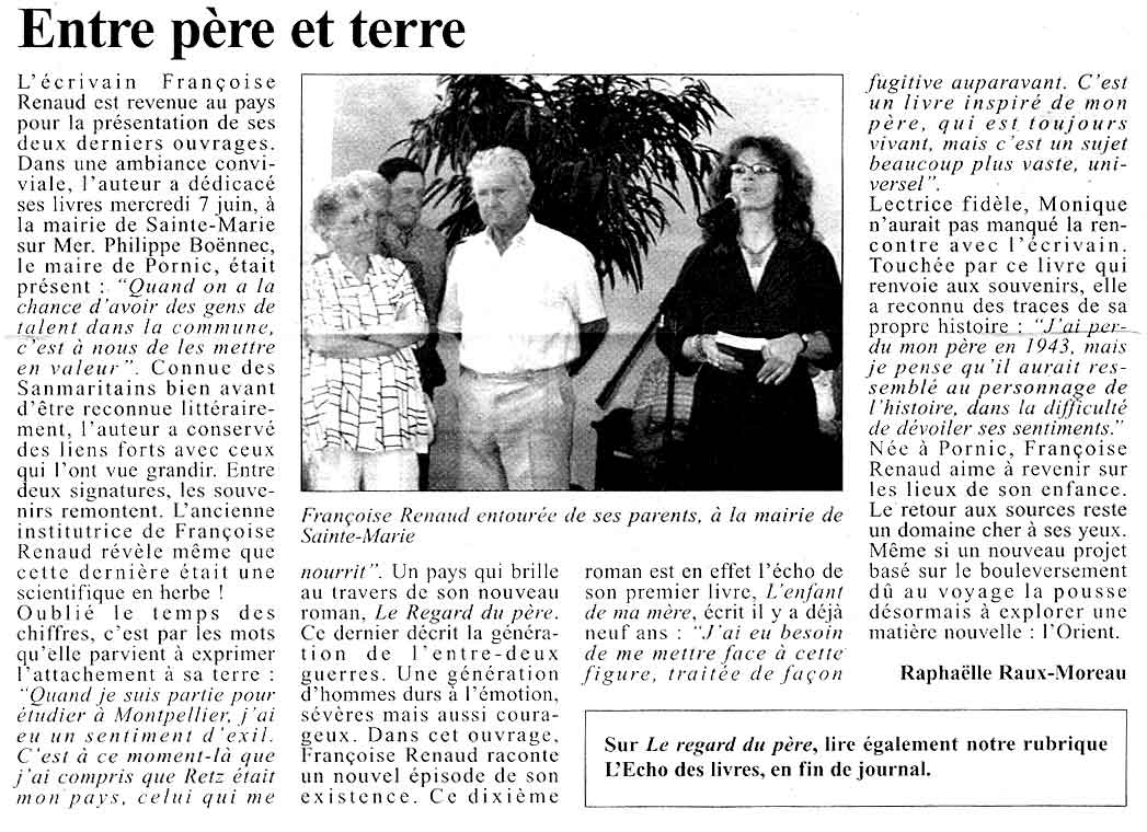 Le Courrier du Pays de Retz, 2006