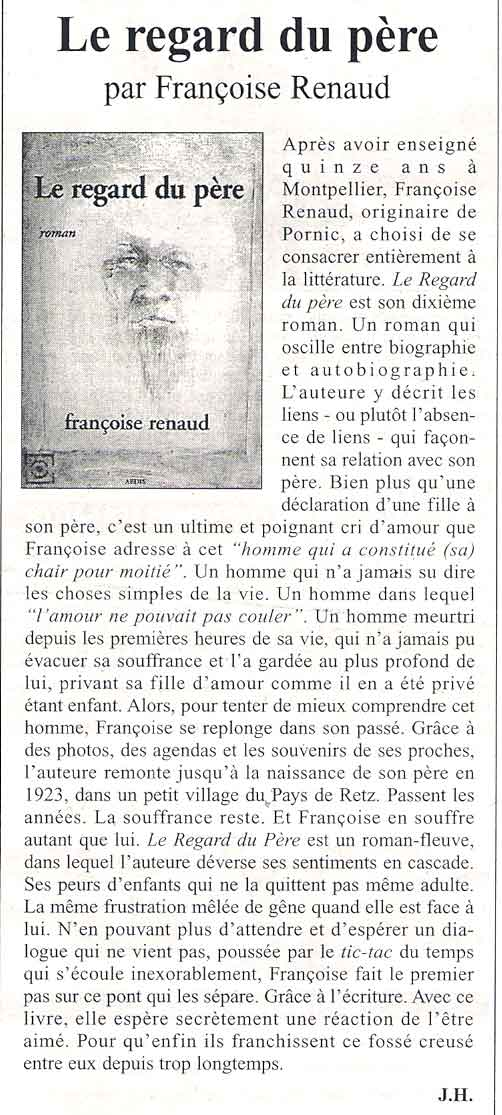 Le Courrier du Pays de Retz, 15 juin 2006