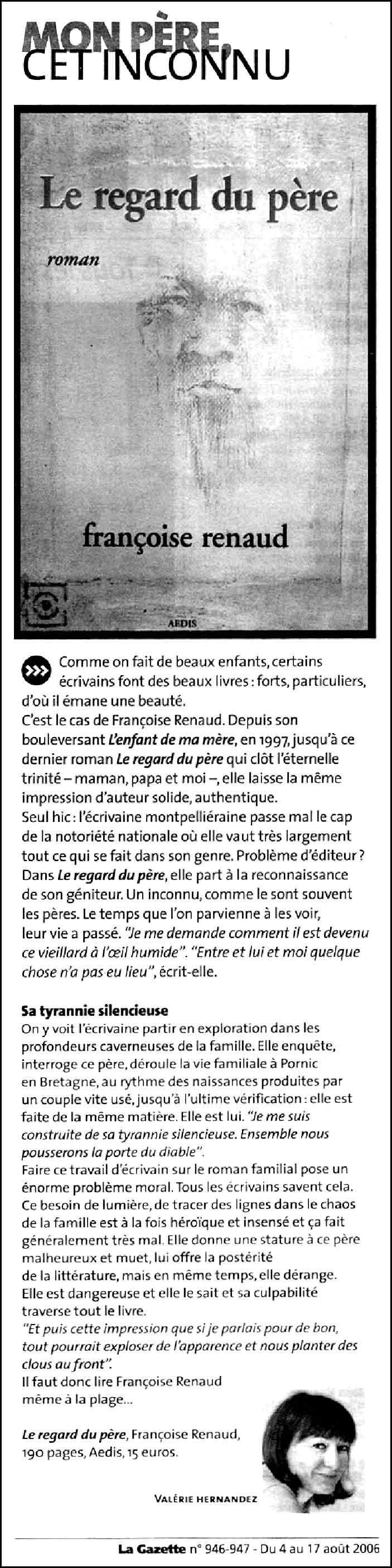 La Gazette de Montpellier, août 2006