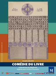 Affiche Comédie du livre, 2013