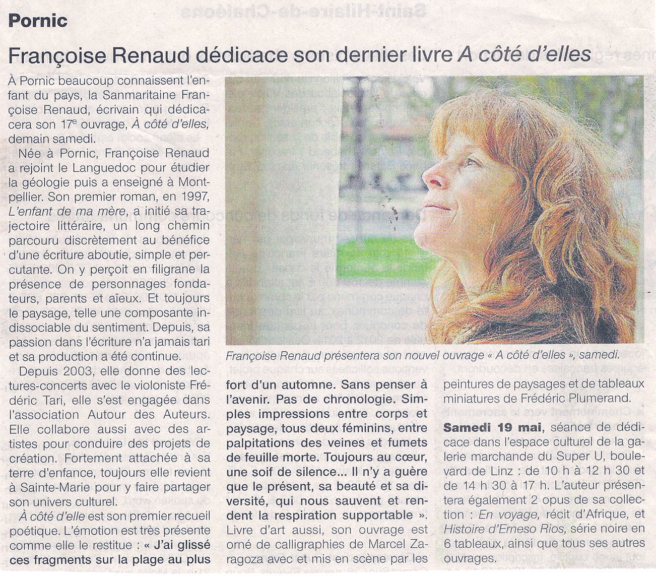 Ouest France, mai 2012