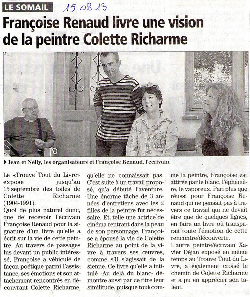 l'Indépendant, 15 août 2013
