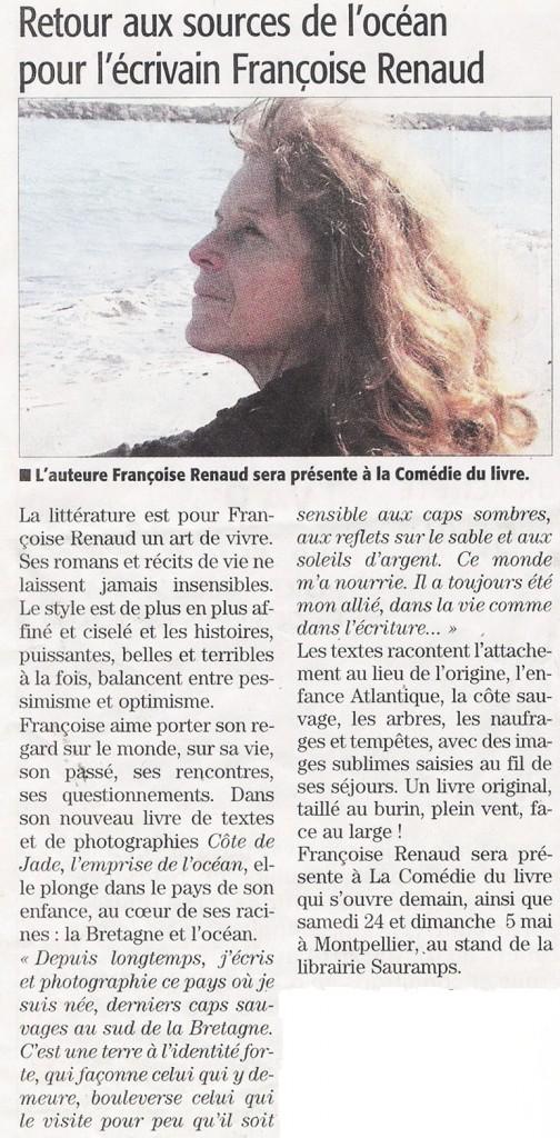 MIDI LIBRE Hérault, 22 mai 2014