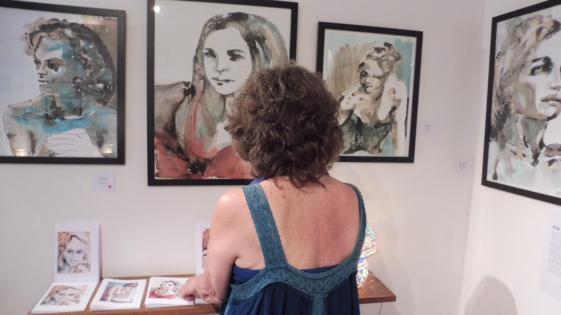 art et écriture, Chemin des z'Arts juillet 2016