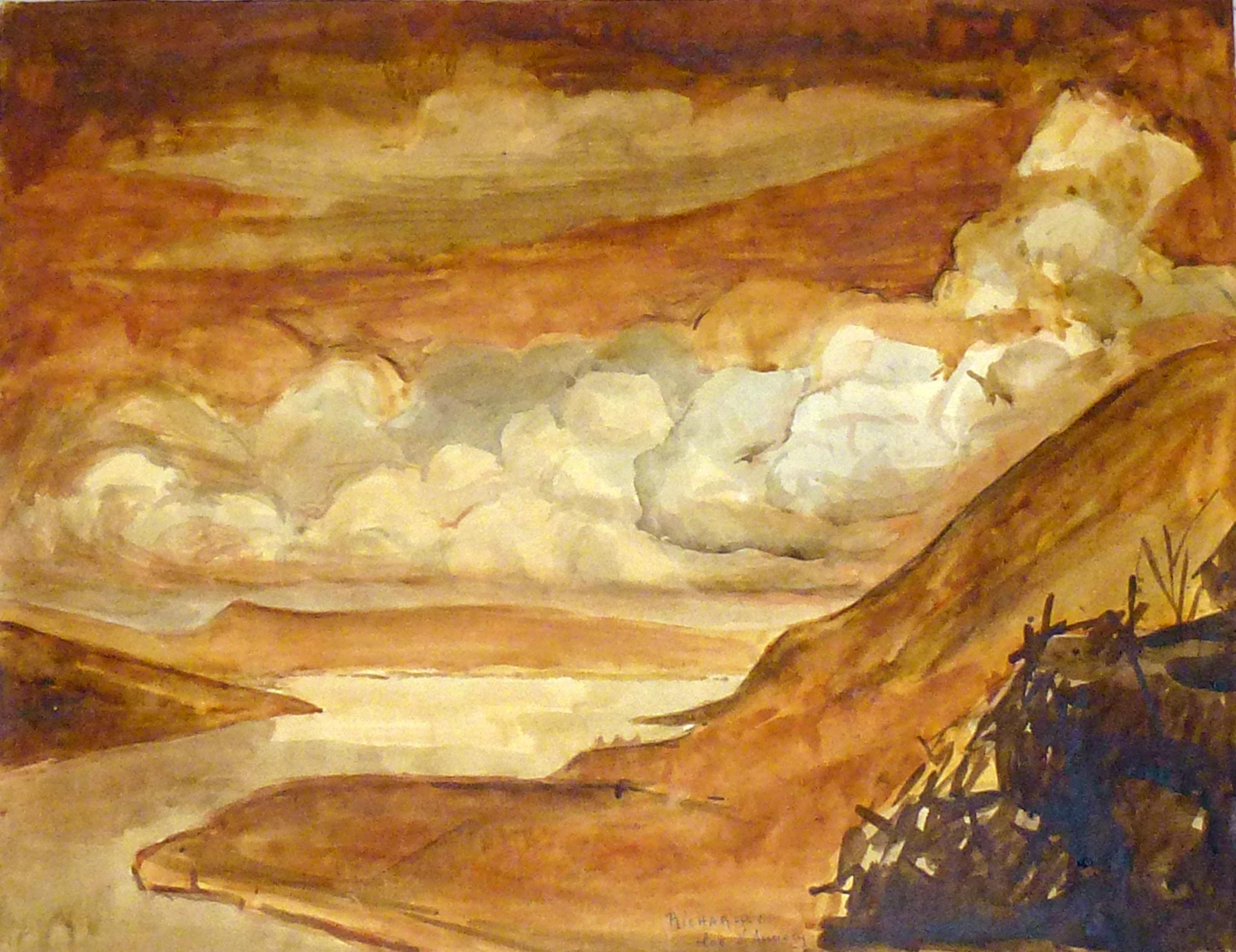 L'eau du lac, l'eau du ciel : lecture autour de Richarme, musée Fabre, 19 mai 2019